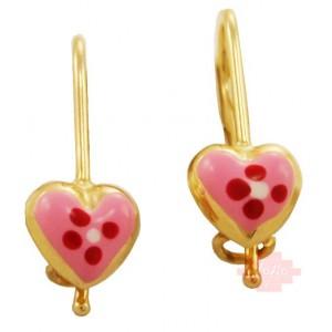 Χρυσά παιδικά σκουλαρίκια...