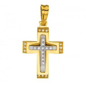 Χρυσός σταύρος 14 καρατίων...