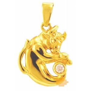 Χρυσό ζώδιο ''ταύρος''...