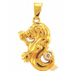 Χρυσό ζώδιο ''λέων''...