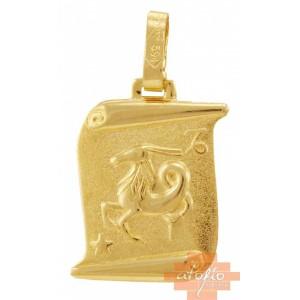 Χρυσό ζώδιο''αιγόκερως''...