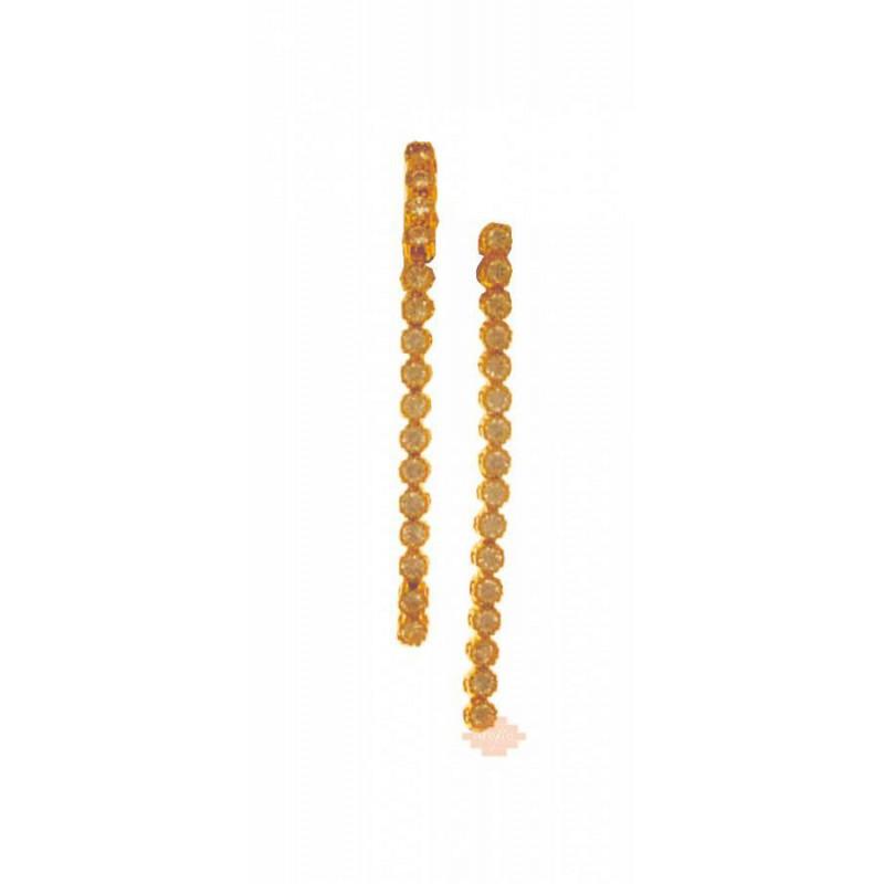 Χρυσά γυναικεία σκουλαρίκια 14 καρατίων SK009