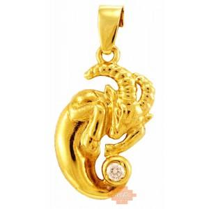 Χρυσό ζώδιο 'Αιγόκερος'...
