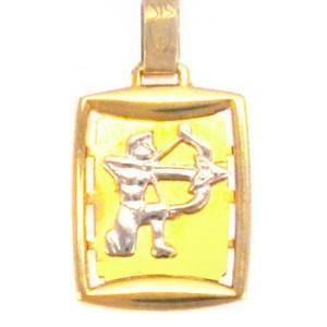 Χρυσό ζωδιο'τοξότης' διπλής...