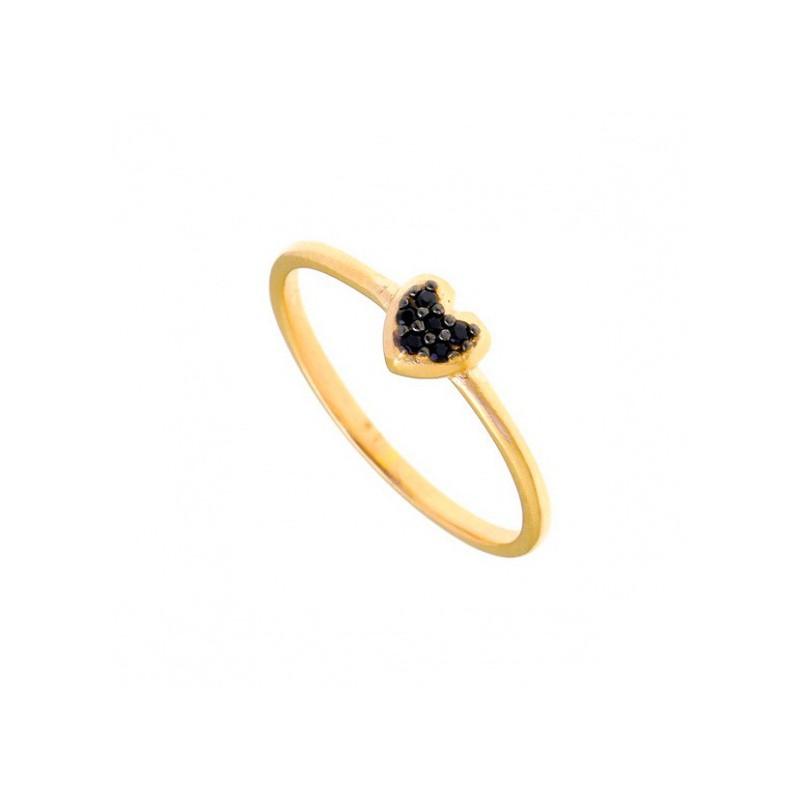 Χρύσο δαχτυλίδι Gregio 30037K
